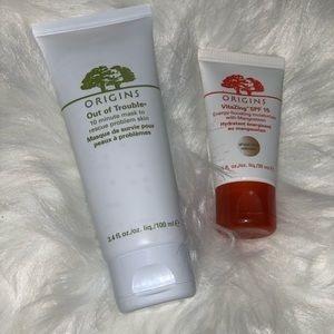 "Origins ""Out of Trouble"" mask & VitaZing"